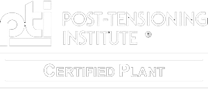 Post Tensioning Institute Certified Plant